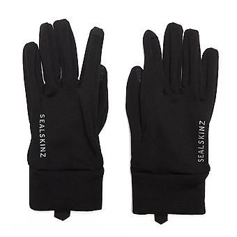 Black Sealskinz Women's Fairfield Water-Resistant Gloves