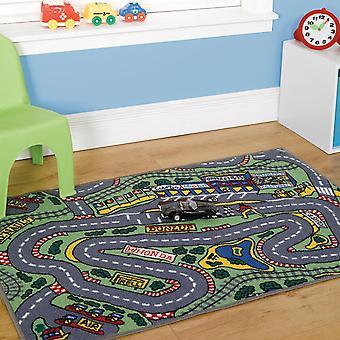 Matrix formel en vaskbar spille tæppe