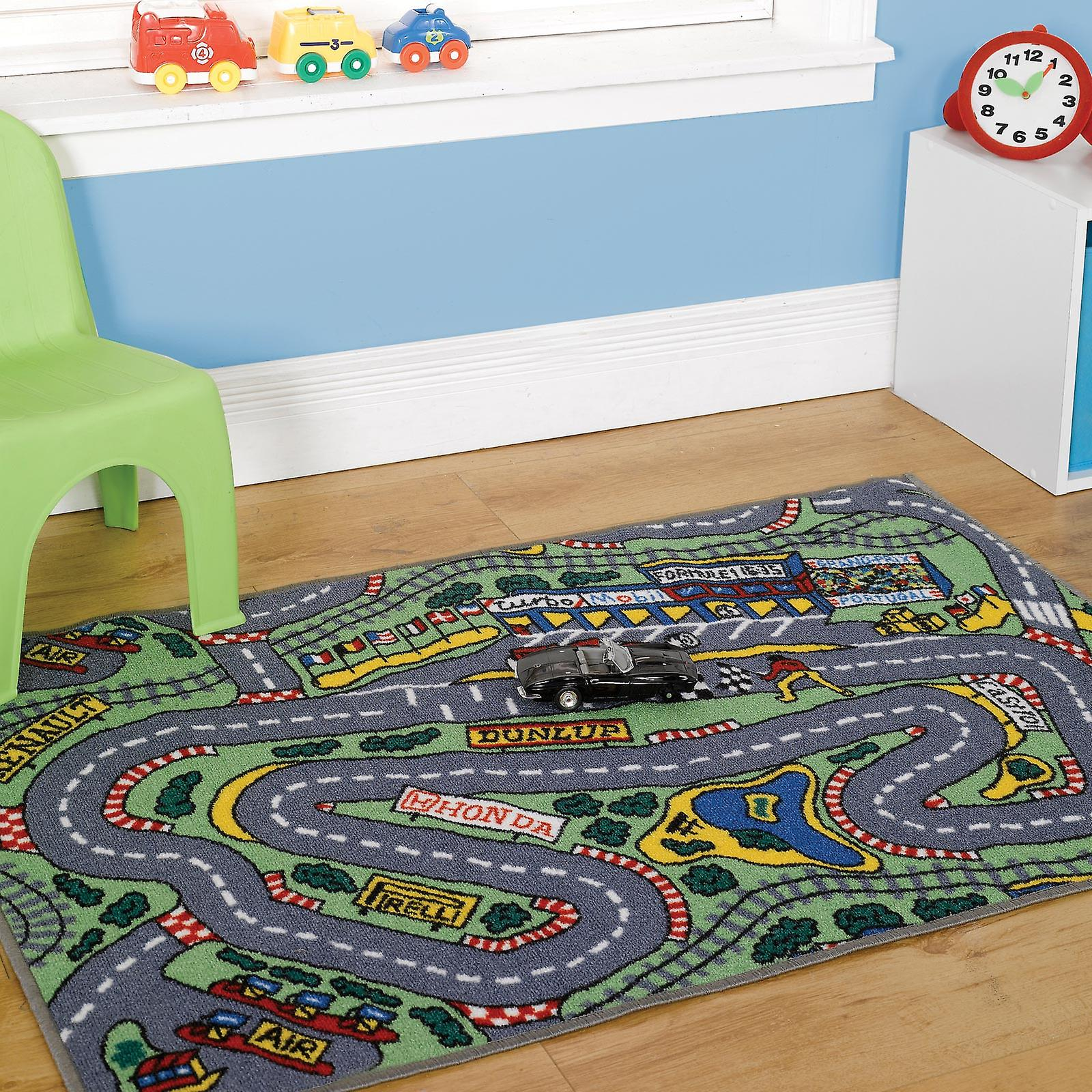 Matrix Formula One Washable Play Rug