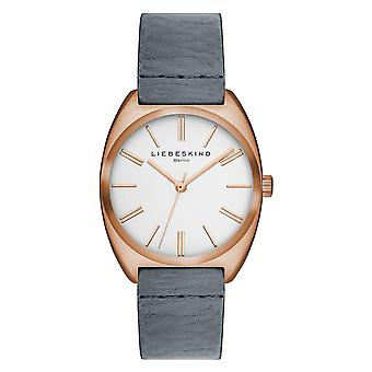 LIEBESKIND BERLIN ladies watch wristwatch leather LT-0034-LQ