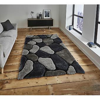 Nobel House Kieselsteine 5858 grau Kobalt Rechteck Teppiche Plain/fast nur Teppiche