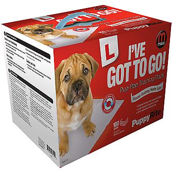 Mikki Pup-pee Pads 100pack (Pack of 2)