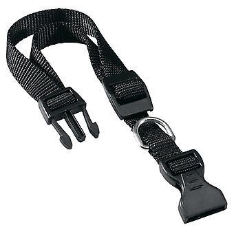 Club C15 Nylon Collar Black 15mm X 30-44cm