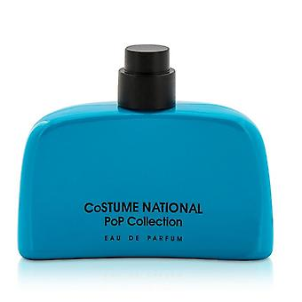 Costume National Pop Collection Eau De Parfum Spray - Light Blue Bottle (Unboxed) 50ml/1.7oz