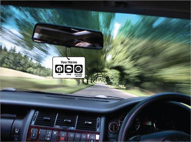 Personalizado comer dormir aire tráfico controlador ambientador