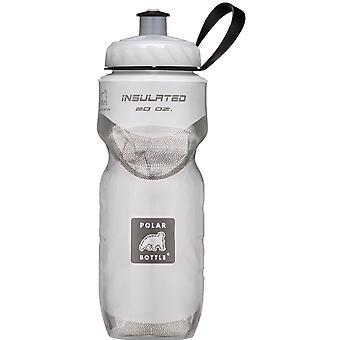 Polar flaska Sport isolerad 20 oz vattenflaska - vit