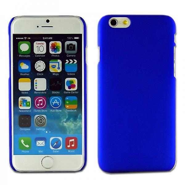 Hard case blue for Apple iPhone 6 4.7 rubber