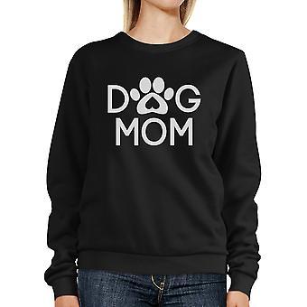 لطيف الكلب البلوز سيدات الأسود Mom الكلب مخلب هدايا لأصحاب الكلاب