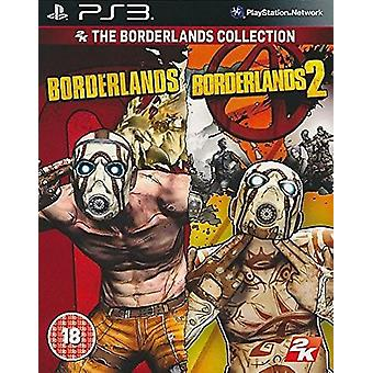 The Borderlands Collection Borderlands 1 and 2 Playstation 3 PS3 Game