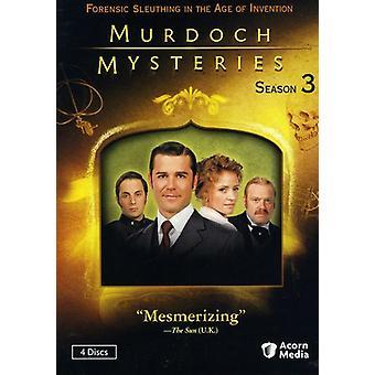 Murdoch Mysteries: Season 3 [DVD] USA import