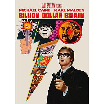 Billion Dollar Brain [DVD] USA import