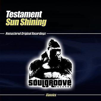 Testament - Sun Shining [CD] USA import
