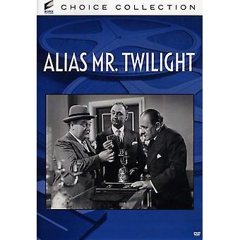 Alias Mr. Twilight [DVD] USA import