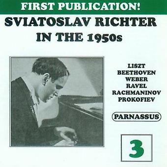 Sviatoslav Richter - Sviatoslav Richter i 1950 ' erne, Vol. 3 [CD] USA importerer