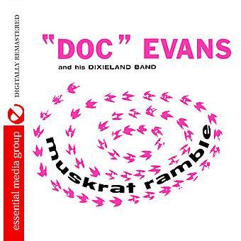 Doc Evans - import Muskrat Ramble [CD]-USA