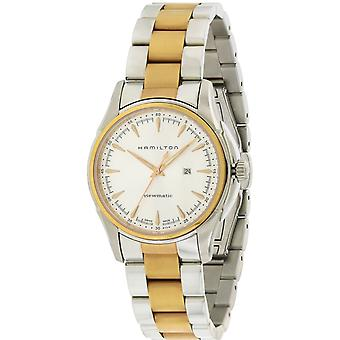 Hamilton Jazzmaster Viewmatic Automatic Two-Tone Mens Watch H32305191
