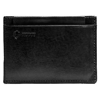 Nodus Compact Wallet - Ebony Black