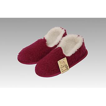 Moccasin wool bordeaux 38/39
