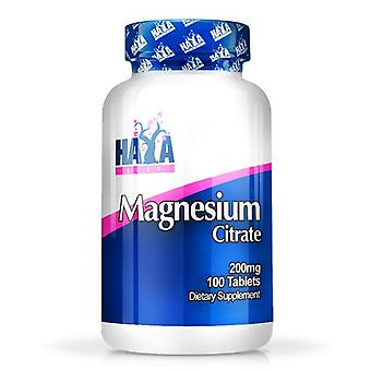 Haya Labs 100 Tablets 200mg Magnesium Citrate (Sport , Others)