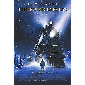 El cartel de la película expreso Polar (11 x 17)