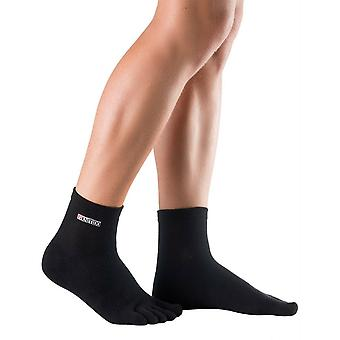 Knitido track & trail ankle | Short toe socks from Coolmax®