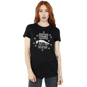 National Lampoon's Christmas Vacation Women's Eat My Dust Boyfriend Fit T-Shirt