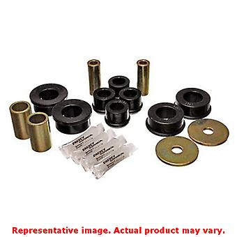 Energy Suspension Control Arm Bushing Set 19.3101G Black Front Fits:SUBARU 2002