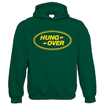 Hung Over, Funny Mens Off Road 4x4 Hoodie (S to 5XL)