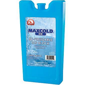 IGLO MaxCold Medium Refreezable ijsblok - blauw