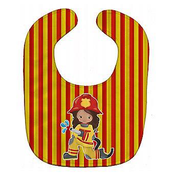Carolines Treasures  BB7001BIB Fireman Girl Baby Bib