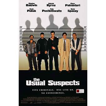The Usual Suspects Movie Poster (11 x 17)