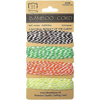 Bamboo Bakers Twine Carded Set 2 Ply 410' Pkg Blooming Field Bbtc2 Bloom