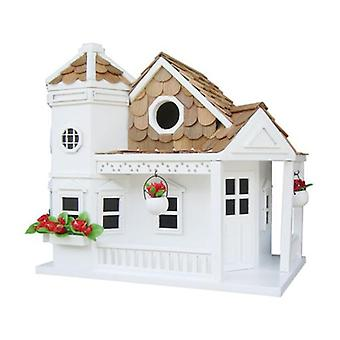 Sea Cliff Cottage Decorative White Bird House