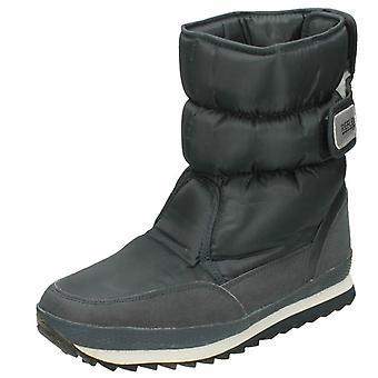 Mens Reflex Fleece Lined Snow Boots A3015