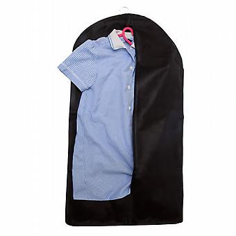 Caraselle Childrens Garment Cover - Black Breathable Zipped -83x45x3cm
