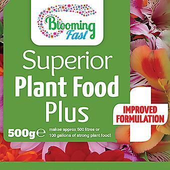 Blooming Fast Soluble Fertiliser 500g concentrate makes 500L feed