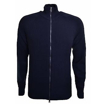Hugo Boss Orange Hugo Boss Men's Navy Blue Asmaren Knitted Jacket