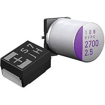 Electrolytic capacitor SMT 82 µF 16 Vdc