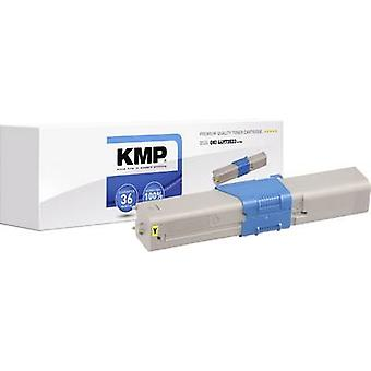KMP Toner cartridge replaced OKI 50193310 Compatible Yellow