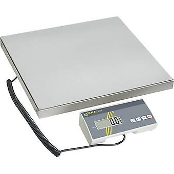 Parcel scales Kern Weight range 150 kg Readability 50 g