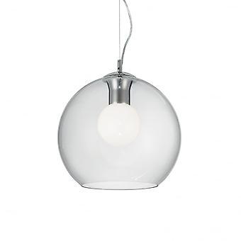 Ideal Lux Nemo Fishbowl plafonnier pendentif goutte, Globe 30cm