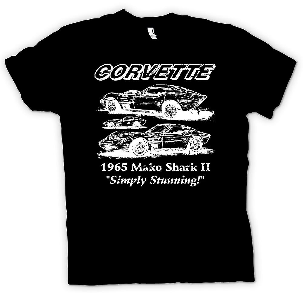 Mens T-shirt - Corvette Mako Shark II - Classic Car