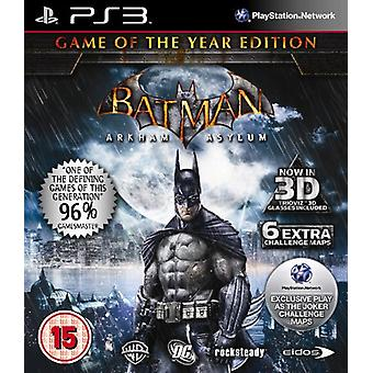 Batman Arkham Asylum - Game of the Year (PS3)