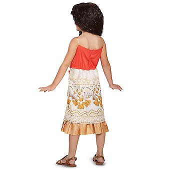 Moana Classic Disney Polynesian Princess Maui Dress Up Girls Costume