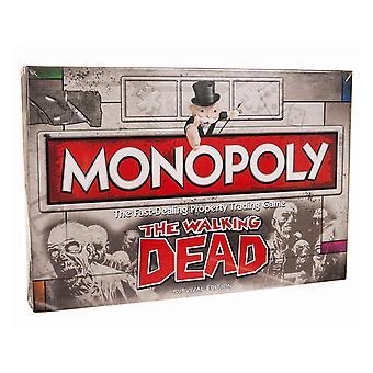 Walking Dead 3D Monopoly Game Set
