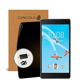 Celicious Privacy 2-Way Visual Black Out Screen Protector for Lenovo Tab 7 Essential