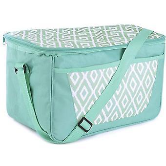 Große grüne Familie 26 können 18 Liter Picknick - Kühltasche mit Schultergurt