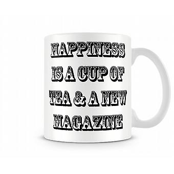 Happiness Tea Printed Mug