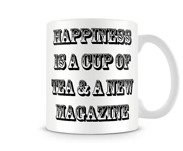 Happiness Tea Printed Mug