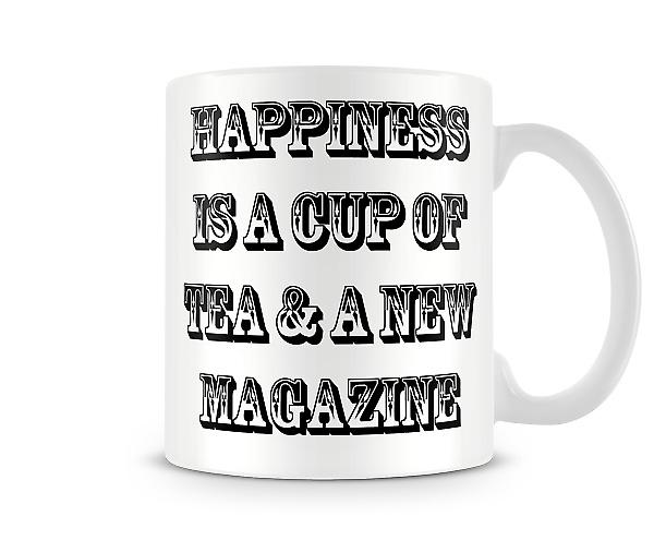 Glücks Tee bedruckte Tasse
